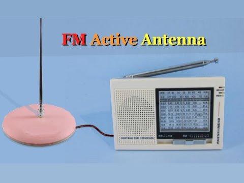 Make FM Active Antenna
