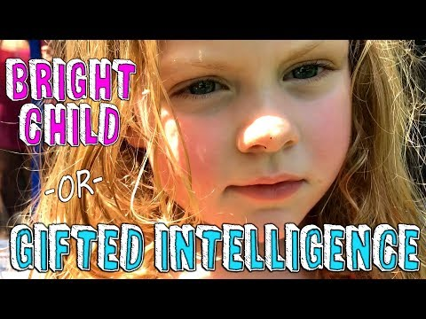 BRIGHT CHILD vs.  GIFTED INTELLIGENCE - INTRODUCTION TO GIFTED EDUCATION