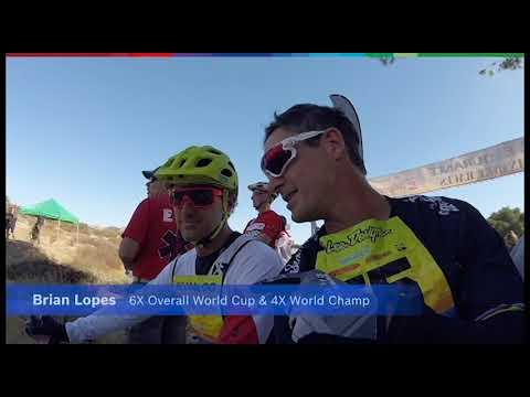 Brian Lopes likes e-mountain bikes