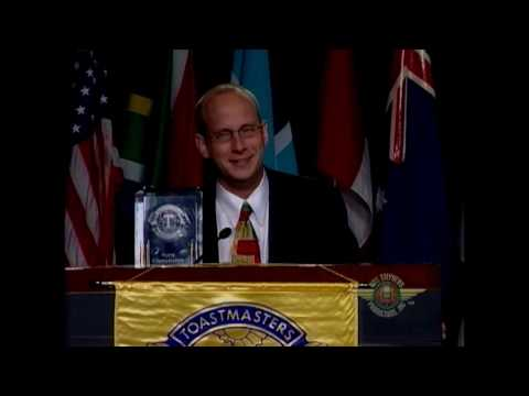 Toastmasters Winning Acceptance Speech Darren LaCroix