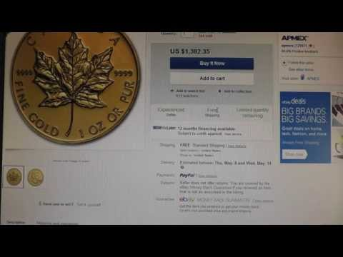 10% Ebay coupons to get Silver and Gold deals