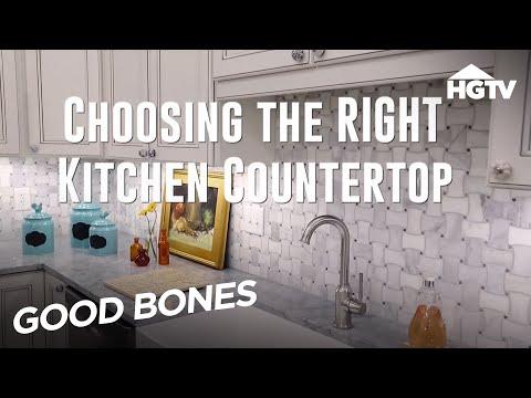 Kitchen Countertop Options - Good Bones - HGTV
