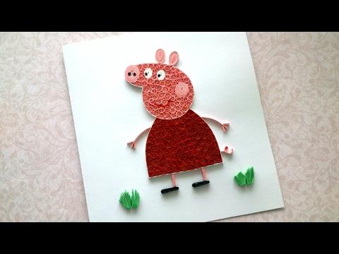 DIY Peppa Pig - PEPPA PIG BIRTHDAY Card - Funny BIRTHDAY IDEAS
