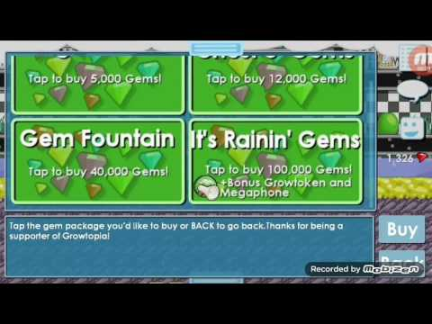 Buying gems & Selling ssp | Growtopia