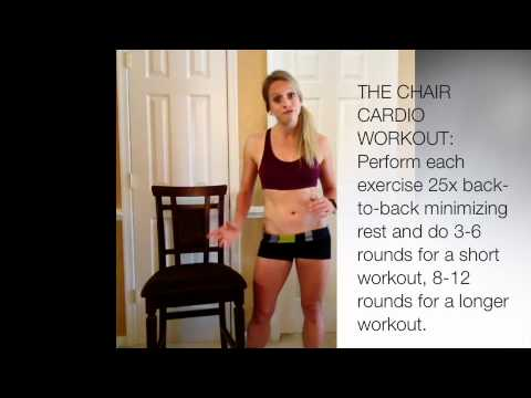 Chair Cardio: How to Get A Workout when Injured Or Seated at the Office I Trish Blackwell