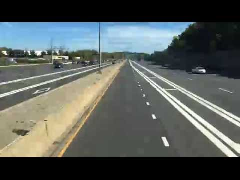 New York City to Boston Bus Time Lapse