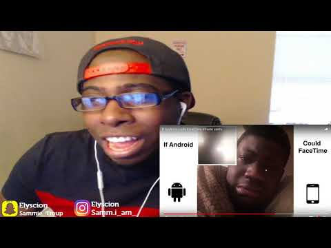 If Android could FaceTime iPhone users-REACTION!!!