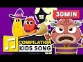 HALLOWEEN MONSTERS AND OTHER SONGS 30MIN LARVA KIDS SUPER BEST SONGS FOR KIDS