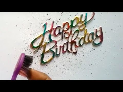 how to make simple birthday greeting card,Greeting card making ideas,DIY greeting card ideas
