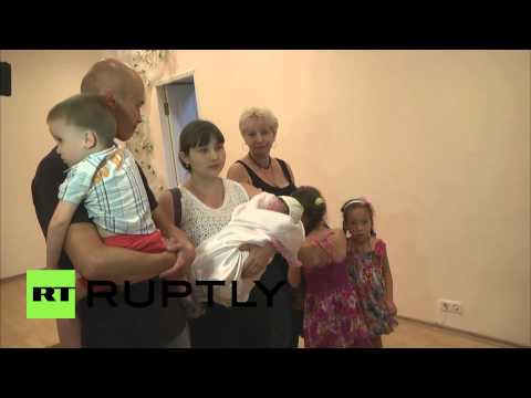Ukraine: First birth certificate issued by Donetsk People's Republic