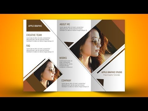 How To Design a Trifold Brochure - Photoshop Tutorial