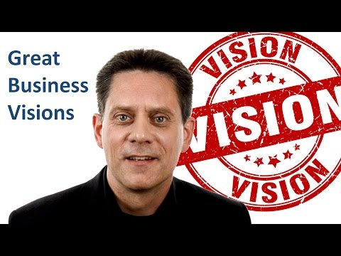 Good and bad examples for vision statements!