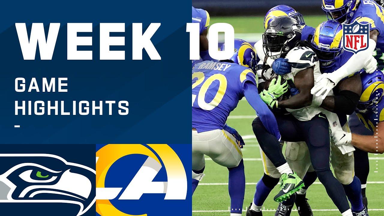Seahawks vs. Rams Week 10 Highlights | NFL 2020