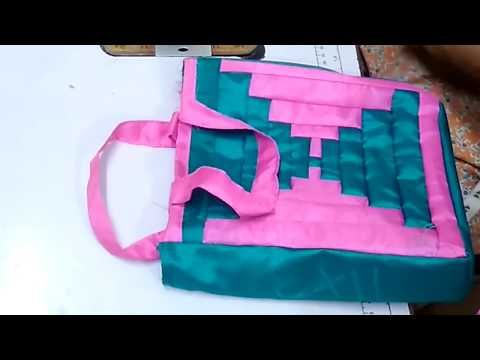 How To Make Beautiful Hand Bag At Home || How To Sew Hand Bag With Waste Cloth