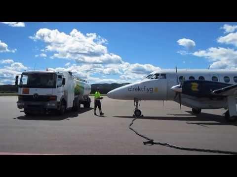 Aircraft refueling.