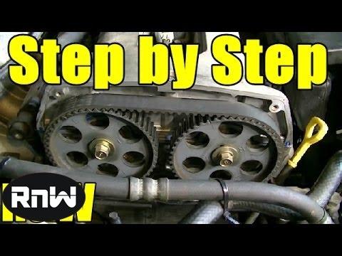 Kia Spectra Timing Belt Replacement - 1.8L DOHC Engine Part 1