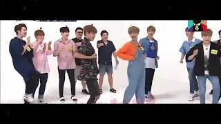 Wanna One dance to Blackpink