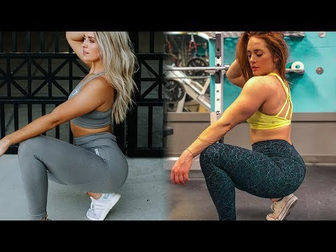 I Tried Following a Whitney Simmons Workout | Hot Fire LEG WORKOUT | Booty, Quads and Hamstrings