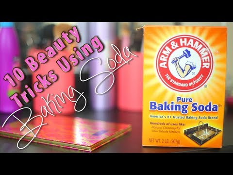10 Beauty Tricks Using Baking Soda ♡