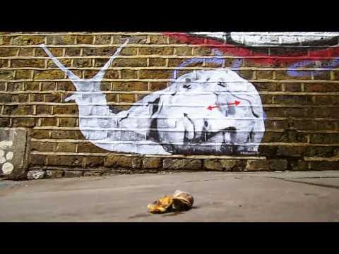 SnailED by Promesto [streetart pasteup wheatpaste]