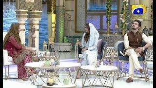 Geo Ramzan Iftar Transmission - Geo Ke Mehman - Ayeza Khan - 15 May 2019 - Ehsaas Ramzan