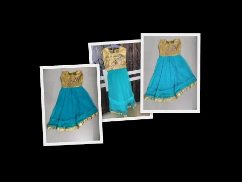 EASY MAKING OF PARTY / DAILY WEAR DRESS FOR KIDS