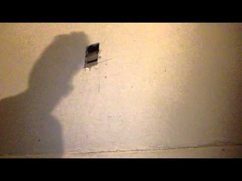 How to install electrical box in lath and plaster part 1