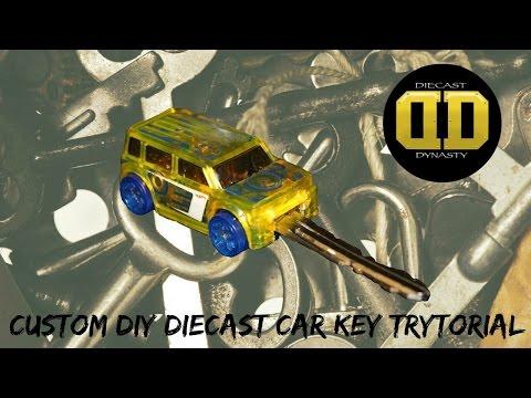 Diecast DIY: Hot Wheels car key