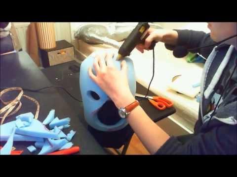 Fursuit 'bucket' head tutorial