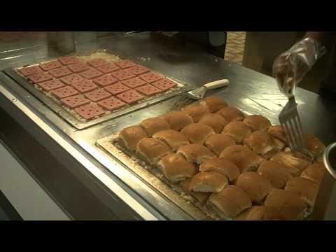 White Castle Sliders Steamed Burgers