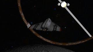 Orbiter 2016 - DGIV Docking To Slow Rotating Ring Station