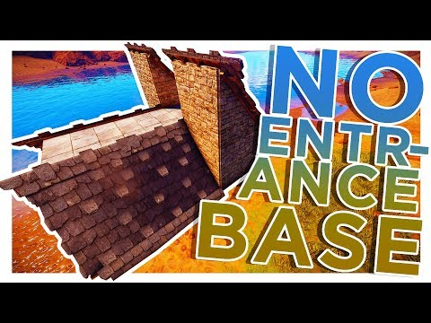 RUST | NO ENTRANCE Building 3.0 Roof EXPLOIT BASE