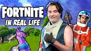 Fortnite Squads in Real Life