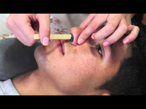How to Wax your nose at home