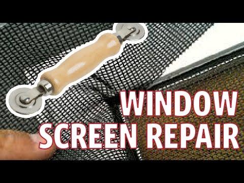 Window and Sliding Door Screen Repair - Spline Tool