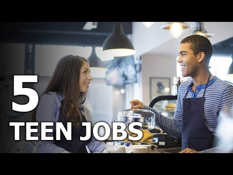 5 Good Jobs For Teenagers