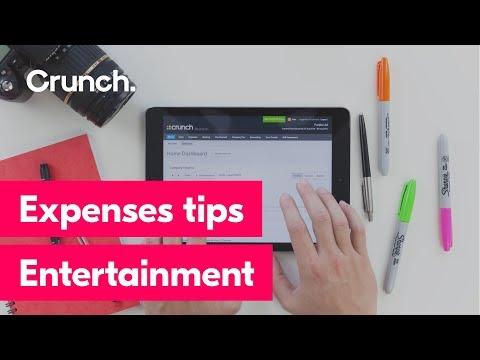 Expenses tips - Entertainment