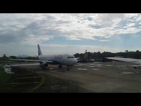 Indigo - Delhi To Guwahati Flight Prepare To Land At Guwahati