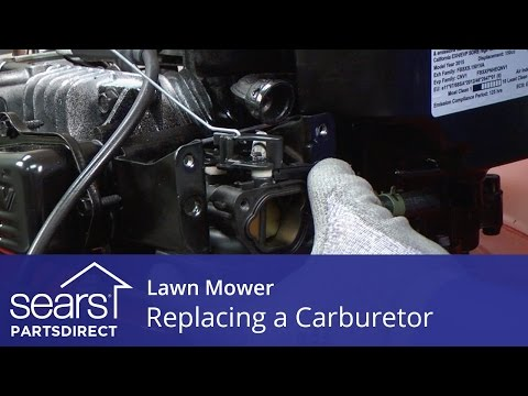 Replacing the Carburetor on a Lawn Mower
