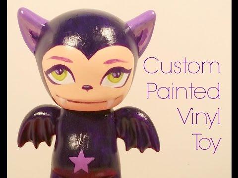 Custom Painted Vinyl Toy Demo