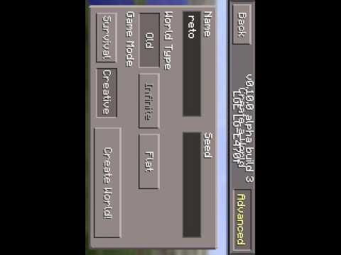 Como fazer um portal No minecraft 0.10.0 0.2.1 etc