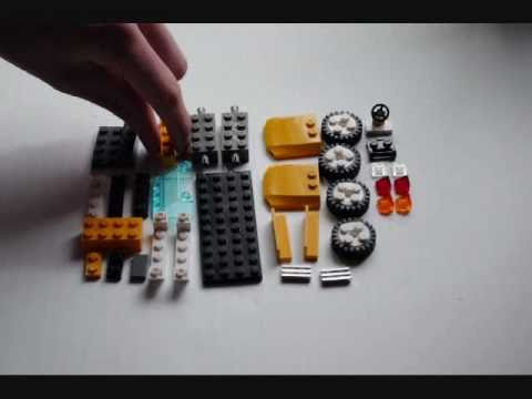 HowTo Build a LEGO Sports Car (Convertible) Tutorial (WhacoLab)