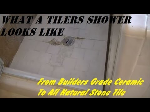MY SHOWER...with all the mistakes
