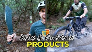 Reviewing a Strange Array of Bike and Outdoor Products