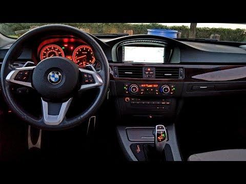 BMW E90 LED Shift Knob Retrofit F30 Style Driving Video