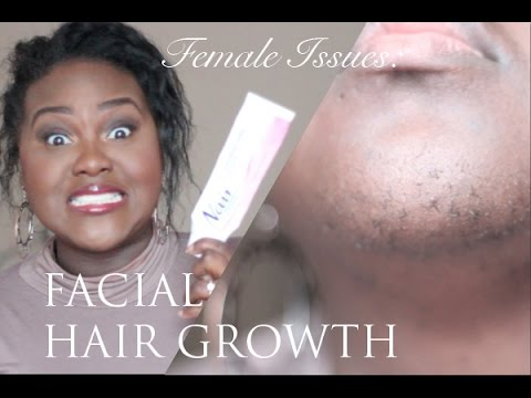 Female Issues: Excess Facial Hair Growth | My Facial Hair Routine | Chanel Boateng