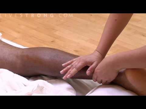 How to Massage Calf Strains