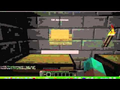 Minecraft Chest Shop Plugin 1.4.5
