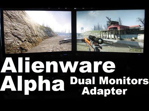 Alienware Alpha Steam box Dual Monitor adapter