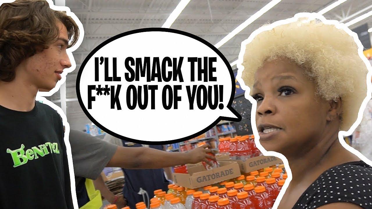 Crazy Grandma Tries to Fight Me at Walmart
